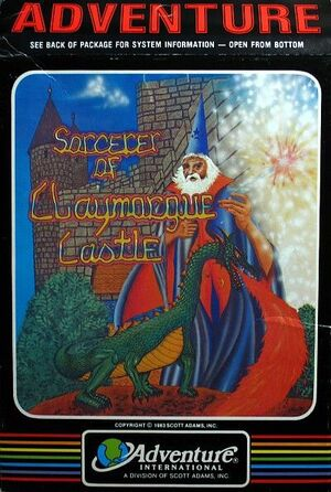 Cover for Sorcerer of Claymorgue Castle.