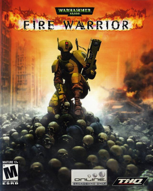 Cover for Warhammer 40,000: Fire Warrior.