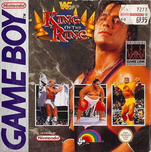 Cover for WWF King of the Ring.