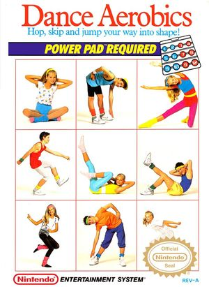 Cover for Dance Aerobics.