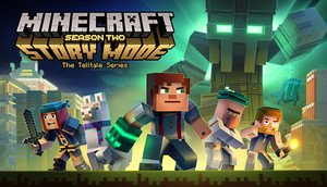 Cover for Minecraft: Story Mode - Season Two.