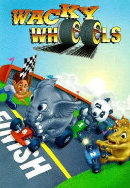 Cover for Wacky Wheels.