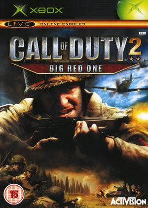 Cover for Call of Duty 2: Big Red One.