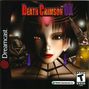 Cover for Death Crimson OX.