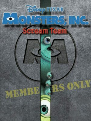 Cover for Monsters, Inc. Scream Team.
