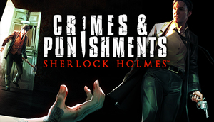 Cover for Sherlock Holmes Crimes & Punishments.