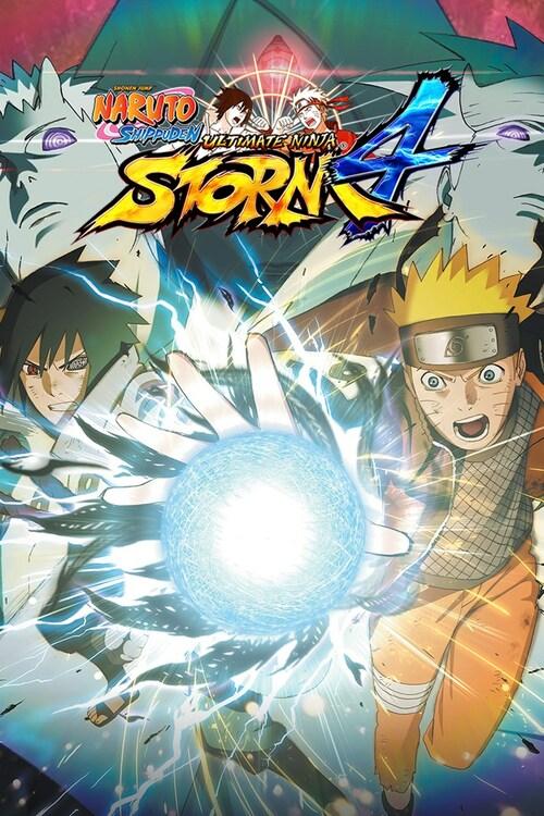 Cover for Naruto Shippuden: Ultimate Ninja Storm 4.