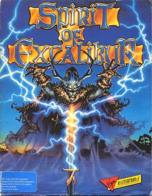 Cover for Spirit of Excalibur.