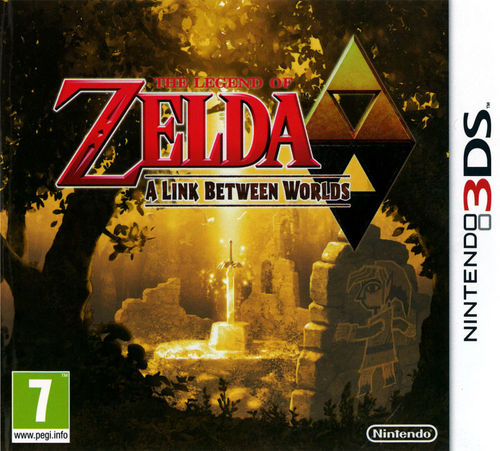 Cover for The Legend of Zelda: A Link Between Worlds.