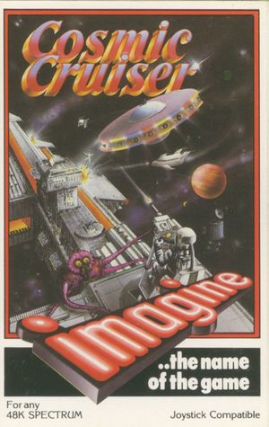 Cover for Cosmic Cruiser.