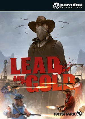 Cover for Lead and Gold: Gangs of the Wild West.