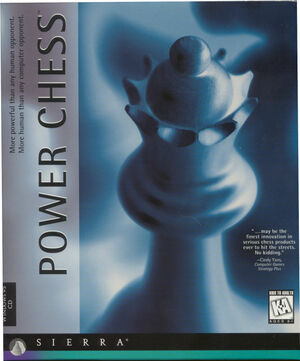 Cover for Power Chess.