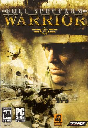 Cover for Full Spectrum Warrior.