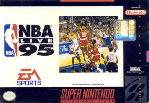 Cover for NBA Live 95.