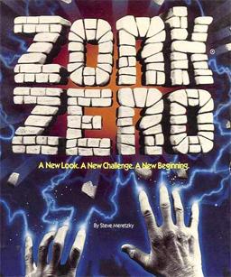 Cover for Zork Zero.