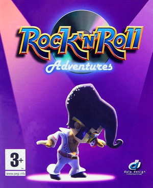Cover for Rock 'n' Roll Adventures.