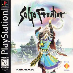 Cover for SaGa Frontier.