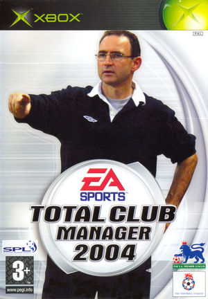 Cover for Total Club Manager 2004.