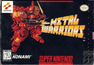 Cover for Metal Warriors.
