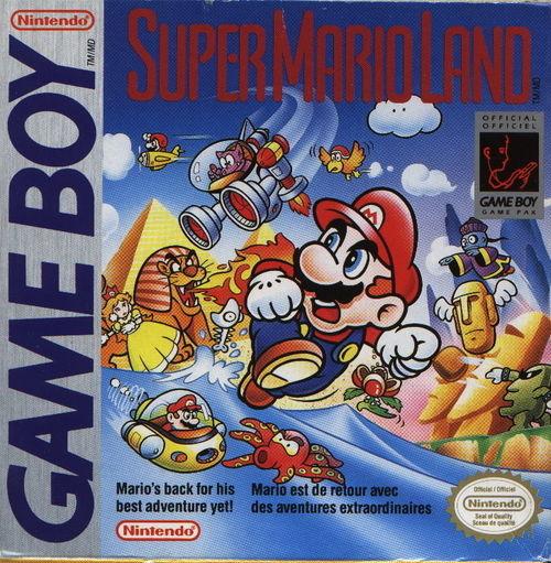 Cover for Super Mario Land.