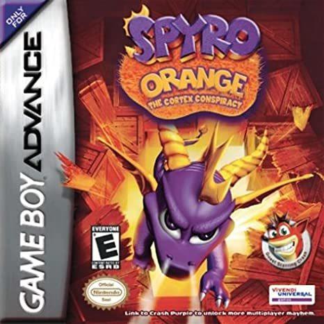 Cover for Spyro Orange: The Cortex Conspiracy.
