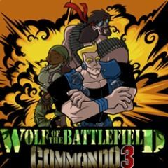 Cover for Wolf of the Battlefield: Commando 3.