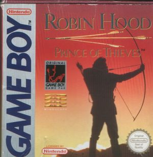 Cover for Robin Hood: Prince of Thieves.