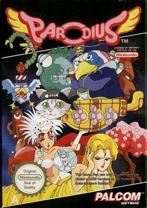 Cover for Parodius.