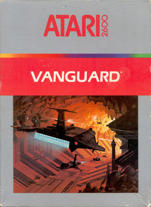 Cover for Vanguard.