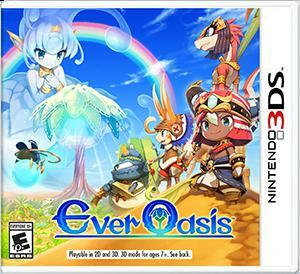Cover for Ever Oasis.