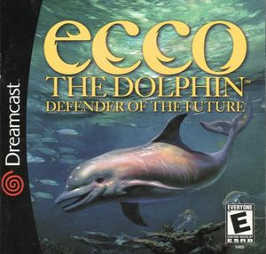 Cover for Ecco the Dolphin: Defender of the Future.