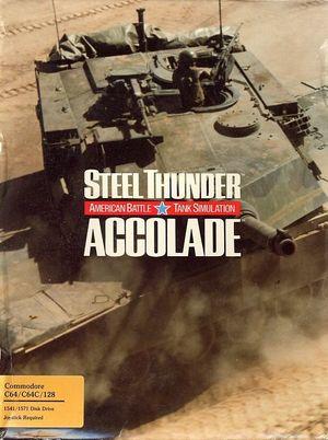Cover for Steel Thunder.