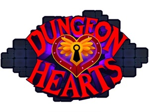 Cover for Dungeon Hearts.