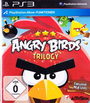 Cover for Angry Birds Trilogy.