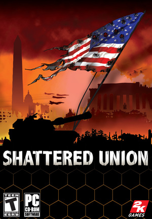 Cover for Shattered Union.