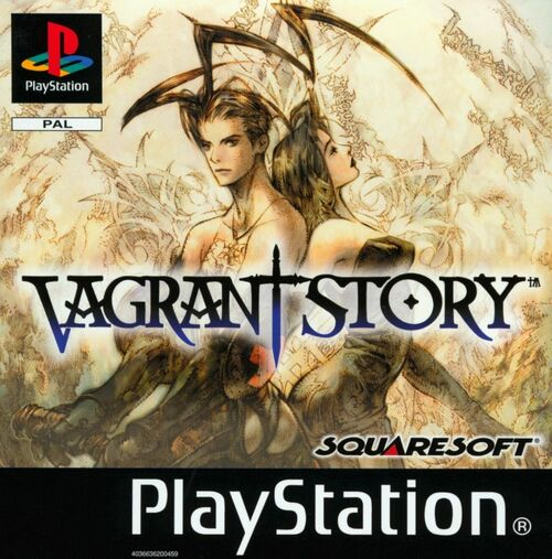 Cover for Vagrant Story.