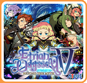 Cover for Etrian Odyssey V.