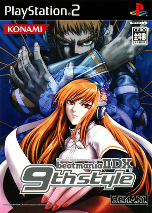 Cover for Beatmania IIDX 9th Style.