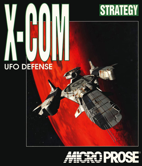 Cover for UFO: Enemy Unknown.