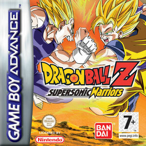 Cover for Dragon Ball Z: Supersonic Warriors.