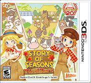 Cover for Story of Seasons: Trio of Towns.