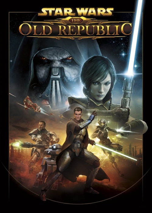 Cover for Star Wars: The Old Republic.