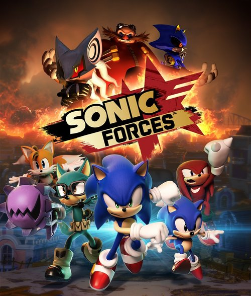 Cover for Sonic Forces.