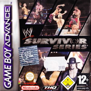 Cover for WWE Survivor Series.