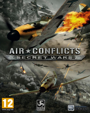 Cover for Air Conflicts: Secret Wars.
