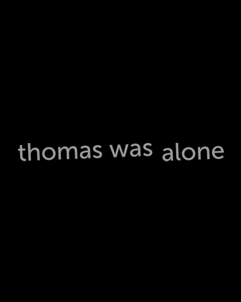 Cover for Thomas Was Alone.
