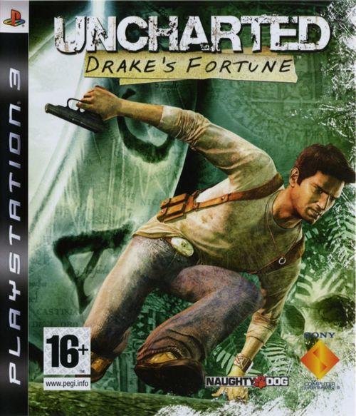 Cover for Uncharted: Drake's Fortune.