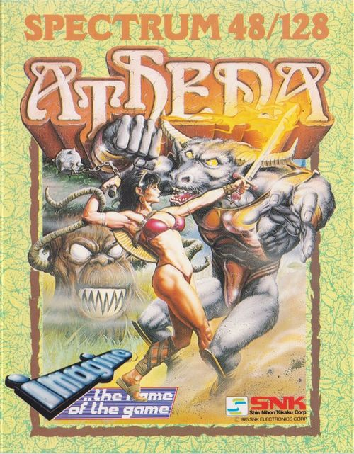 Cover for Athena.