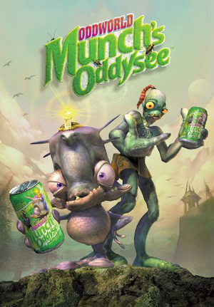 Cover for Oddworld: Munch's Oddysee.