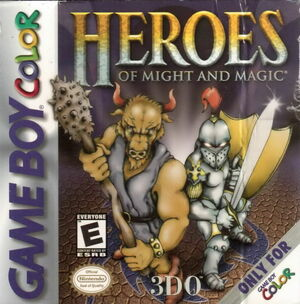 Cover for Heroes of Might and Magic.
